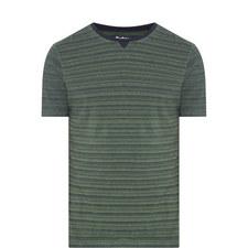 Mako Stripe Print T-Shirt
