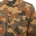 Camouflage Button-Through Overshirt, ${color}