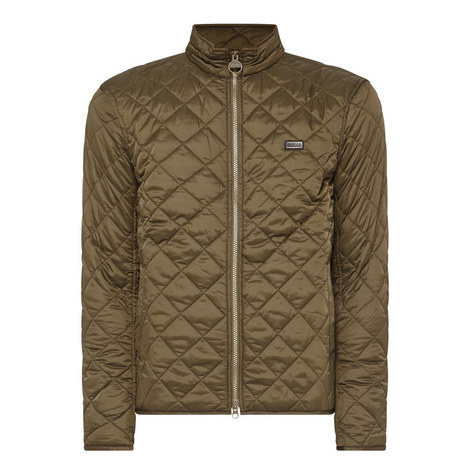 Gear Simple Quilted Jacket , ${color}