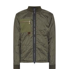 Quilted Breast Pocket Jacket