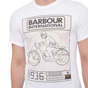 Motorcycle Print T-Shirt , ${color}