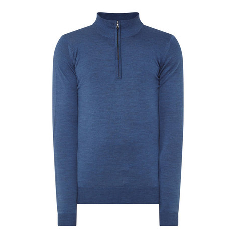 Barrow Wool Half-Zip Sweater, ${color}