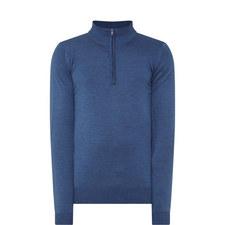 Barrow Wool Half-Zip Sweater