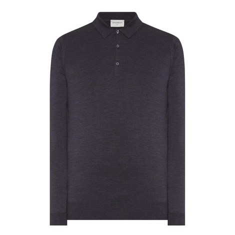 Belper Merino Wool Polo Shirt, ${color}