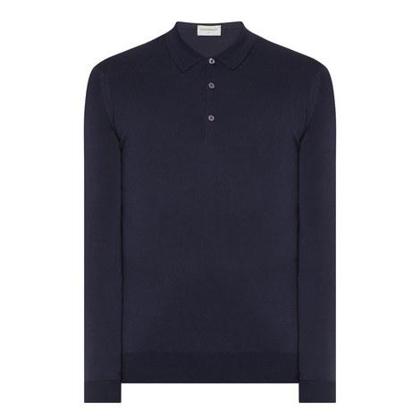 Belper Merino Wool Polo Shirt, ${color}
