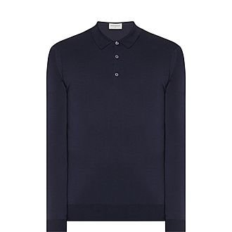 Belper Merino Wool Polo Shirt