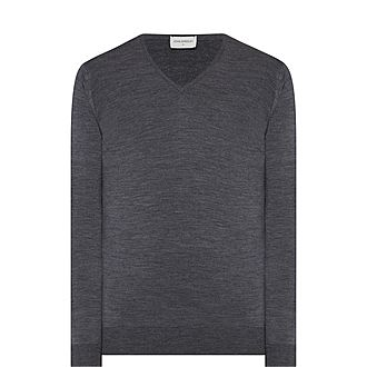 Blenheim Merino Wool V-Neck Sweater