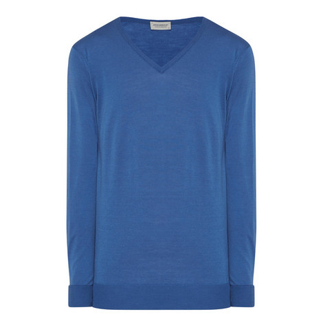 Blenheim V-Neck Sweater, ${color}