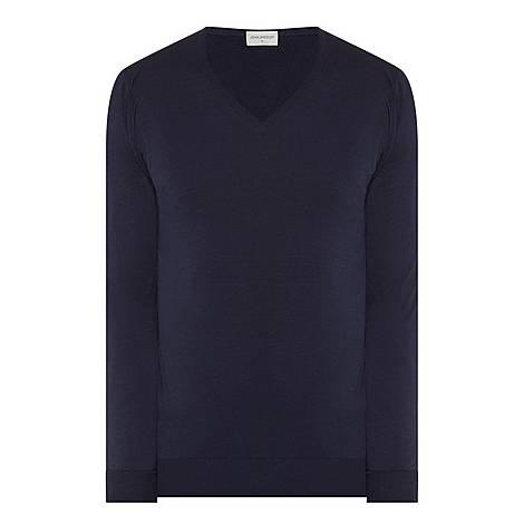 Blenheim V-Neck Sweater, ${color}
