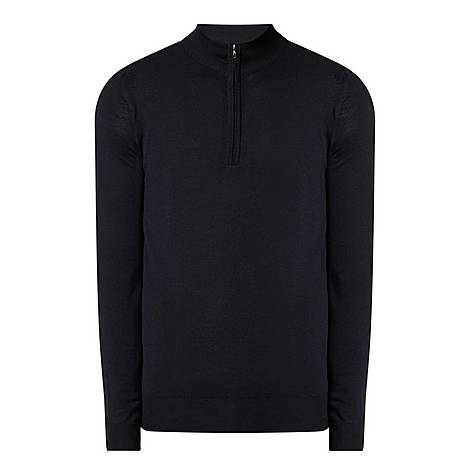 Tapton Half Zip Sweater, ${color}
