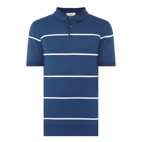 Hembury Striped Polo Shirt, ${color}