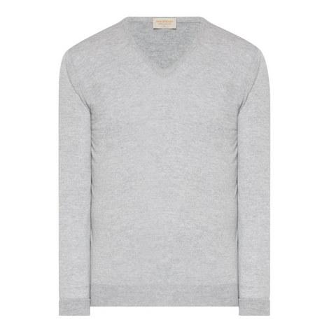 Newark V-Neck Sweater, ${color}
