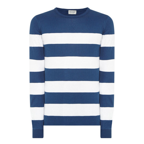 Raydon Striped Sweater, ${color}