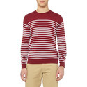 Redfree Striped Sweater, ${color}