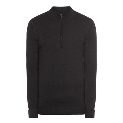 Tampton Half Zip Sweater, ${color}