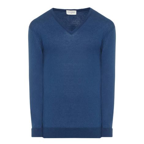 Woburn V-Neck Sweater, ${color}