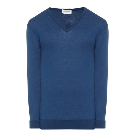 Woburn V-Neck Sweater, ${color}