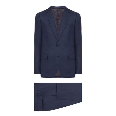 2 Piece Check Soho Suit, ${color}