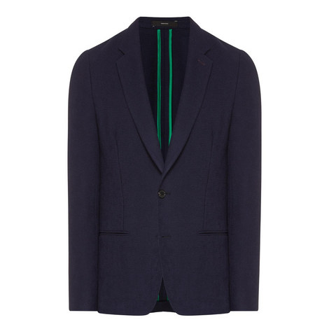 Knitted Wool Blazer, ${color}