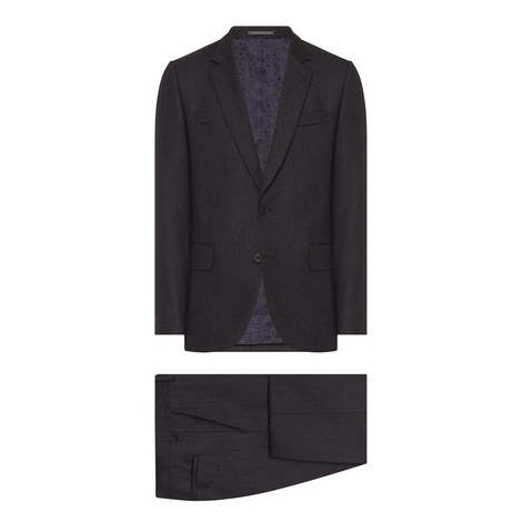 2 Piece Flannel Suit, ${color}