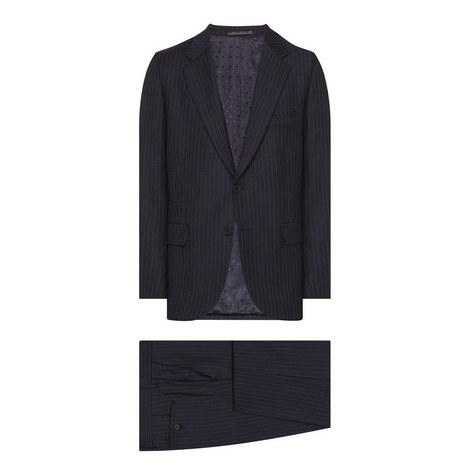 2 Piece Mayfair Pinstripe Suit, ${color}