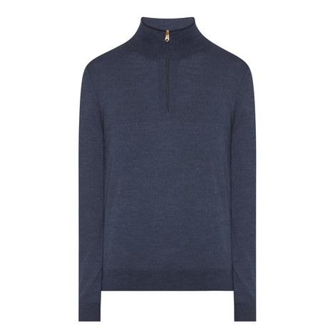Half-Zip Merino Wool Sweater, ${color}