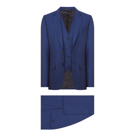 A Suit To Travel In 3 Piece Suit, ${color}