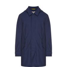 Twill Zip-Through Coat