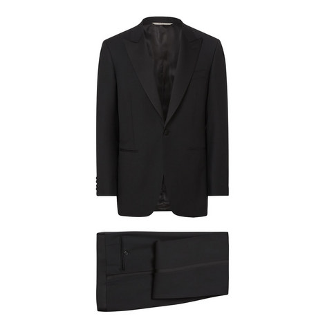 Evening Suit Drop 7 Tuxedo, ${color}
