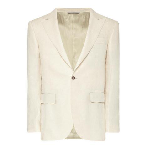 Linen Capri Jacket, ${color}