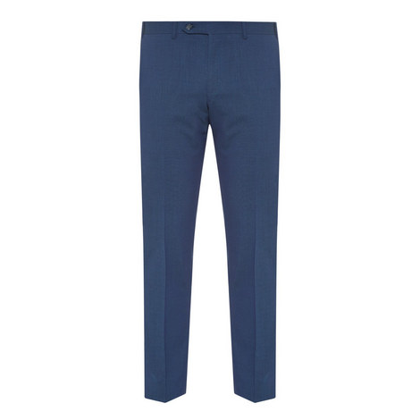 Textured Wool Trousers, ${color}