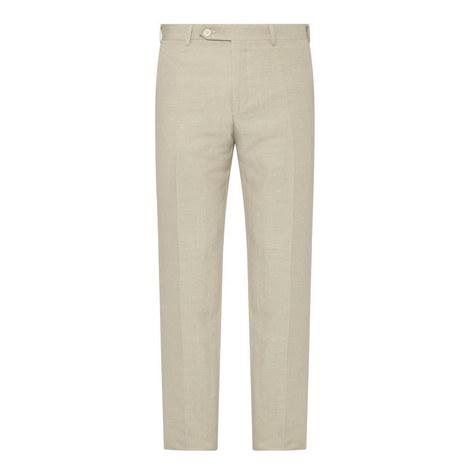 Linen-Silk Trousers, ${color}