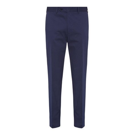 Straight Fit Formal Trousers, ${color}