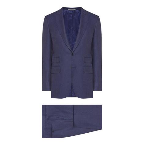 2 Piece Check Suit, ${color}