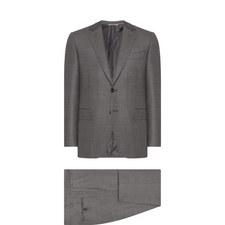 2 Piece Sharkskin Suit