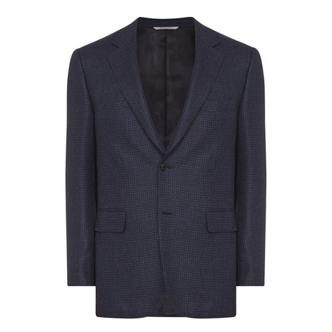 Single Breasted Wool Jacket, ${color}