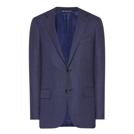 Travel Wool Blazer, ${color}