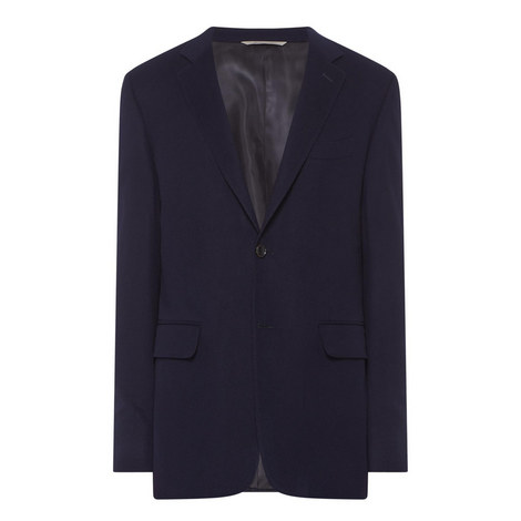 Single-Breasted Wool BLazer, ${color}