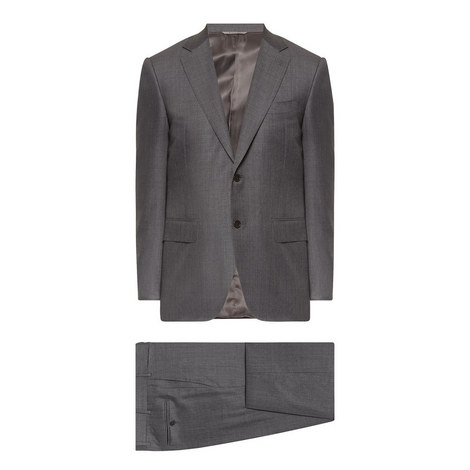 2 Piece Wool Suit, ${color}