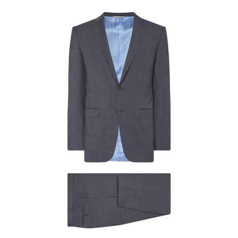 Two-Piece Drop 8 Plain Suit, ${color}