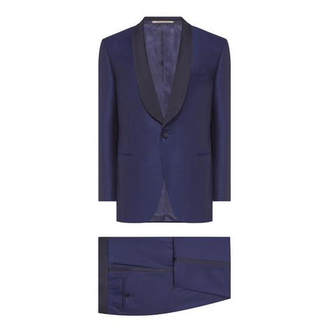 2-Piece Shawl Collar Suit, ${color}