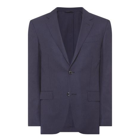 Textured Ten-Pocket Blazer, ${color}