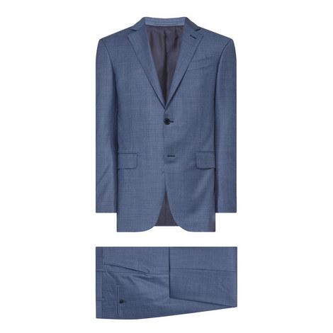 Mélange Check Suit, ${color}
