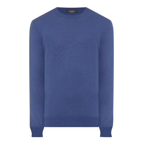 Premium Cotton Crew Neck Sweater, ${color}