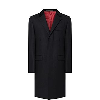 Retro Wool Overcoat