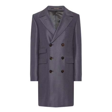 Marton Herringbone Coat , ${color}