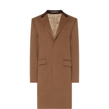 Retro Wool Overcoat