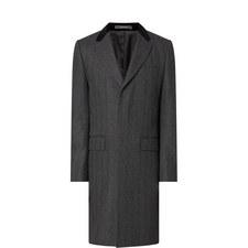 Herringbone Retro Overcoat