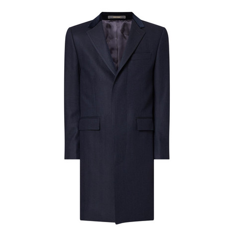 Herringbone Retro Overcoat, ${color}