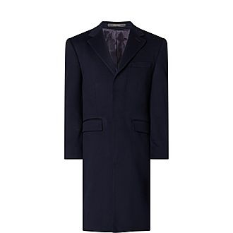 Classic Wool-Cashmere Overcoat
